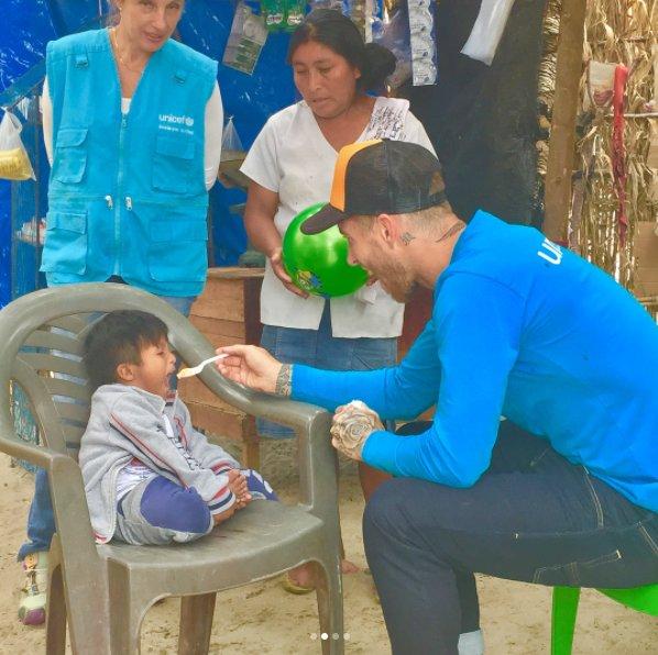 Real Madrid: Sergio Ramos ayuda a damnificados por el Huayco en Piura