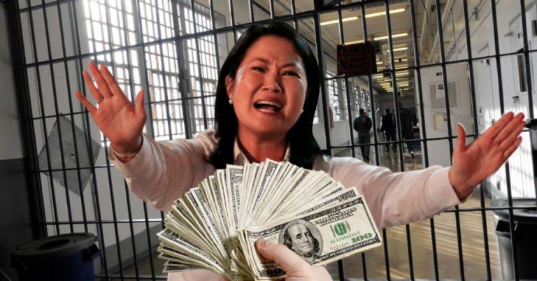 Keiko Fujimori a la cárcel, recibió dinero ilícitamente de Odebretch