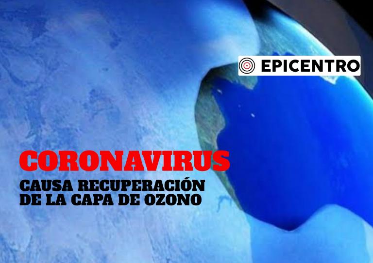 Capa de ozono mejora durante la cuarentena